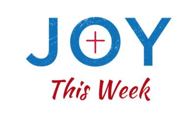 Joy This Week: Sept 12